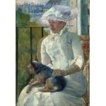 Puzzle   Mary Cassatt : Jeune Fille à la Fenêtre, 1883-1884
