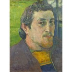 Puzzle   Paul Gauguin : Autoportrait Dédicacé à Carrière, 1888-1889