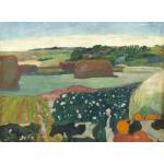 Puzzle   Paul Gauguin : Meules de Foin en Bretagne, 1890
