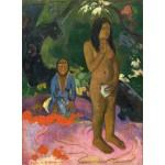 Puzzle   Paul Gauguin : Parau na te Varua ino (Mots du Diable), 1892