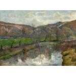Puzzle   Paul Gauguin : Paysage Breton, 1888