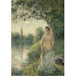 Puzzle   Pissarro Camille : La baigneuse, 1895