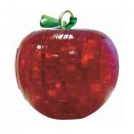 HCM-Kinzel-109303-2 Puzzle 3D en Plexiglas - Mini Pomme rouge