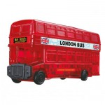 HCM-Kinzel-59156 Puzzle 3D en Plexiglas - London Bus