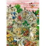 Puzzle  Heye-29121 Crisp : Pisa in Motion