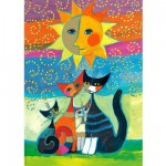 Puzzle  Heye-29158 Rosina Wachtmeister : Le Soleil