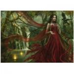 Puzzle  Heye-29272 Cris Ortega : La robe rouge