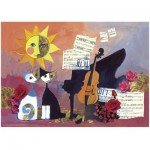 Puzzle  Heye-29449 Rosina Wachtmeister : Violoncelle