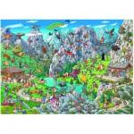 Puzzle  Heye-29680 Birgit Tanck : Alpine Fun