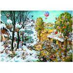 Puzzle  Heye-29704 Ryba Michael : Paradise