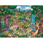Puzzle  Heye-29792 Berman: Forêt Magique