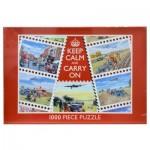 Puzzle  James-Hamilton-Calm Keep Calm and Carry On