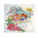 Puzzle  James-Hamilton-Lovelylocks-06 Lady Lovelylocks