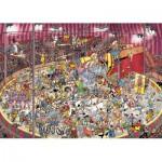 Puzzle  Jumbo-01470 Van Haasteren Jan : Le cirque