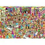 Puzzle  Jumbo-01489 Van Haasteren Jan : Anniversaire spécial