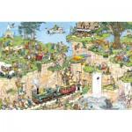 Puzzle  Jumbo-01555 Van Haasteren Jan : Cours de golf