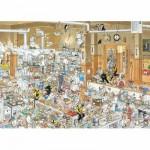 Puzzle  Jumbo-13049 Jan van Haasteren : Dans la cuisine