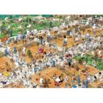 Puzzle  Jumbo-17076 Van Haasteren Jan : Court de tennis