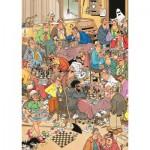 Puzzle  Jumbo-17278 Van Haasteren Jan : Le Club d'Echecs