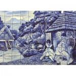 Puzzle  Jumbo-18534 Carreaux Portugais de Funchal