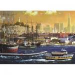Puzzle  Jumbo-18552 Port de San Francisco, Etats-Unis