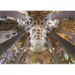 Puzzle  Jumbo-18567 Sagrada Familia, Barcelone