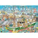 Puzzle  Jumbo-19014 Jan van Haasteren - Chaos de Grand Voilier