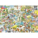 Puzzle  Jumbo-19051 Jan Van Haasteren - La Fête des Vacances