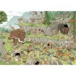 Puzzle  Jumbo-19200 Rob Derks : L'âge de Pierre