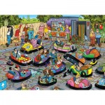 Puzzle   Jan Van Haasteren - Les Auto-Tamponneuses