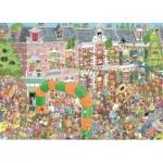 Puzzle   Jan Van Haasteren - Nijmegen Randonnée