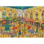 Puzzle   Plaça Reial, Barcelone