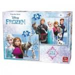 2 Puzzles - La Reine des Neiges