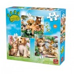 3 Puzzles - Animal World