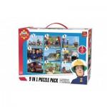 9 Puzzles - Fireman Sam