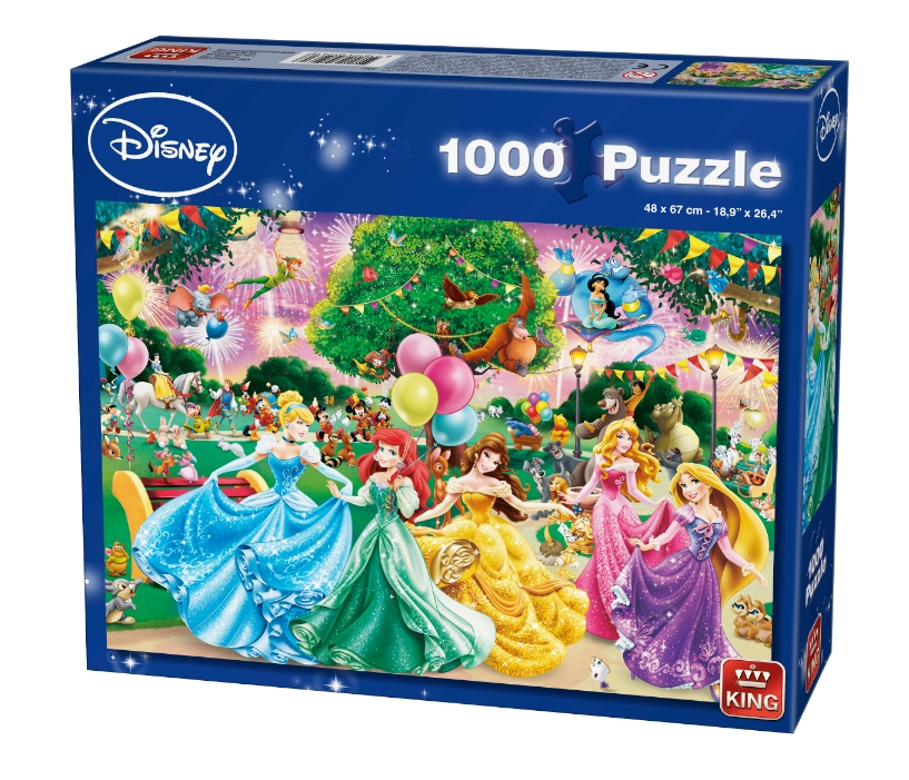 King Puzzle Puzzles Disney Princesses Bj01778 Jpg Pictures to pin on ...