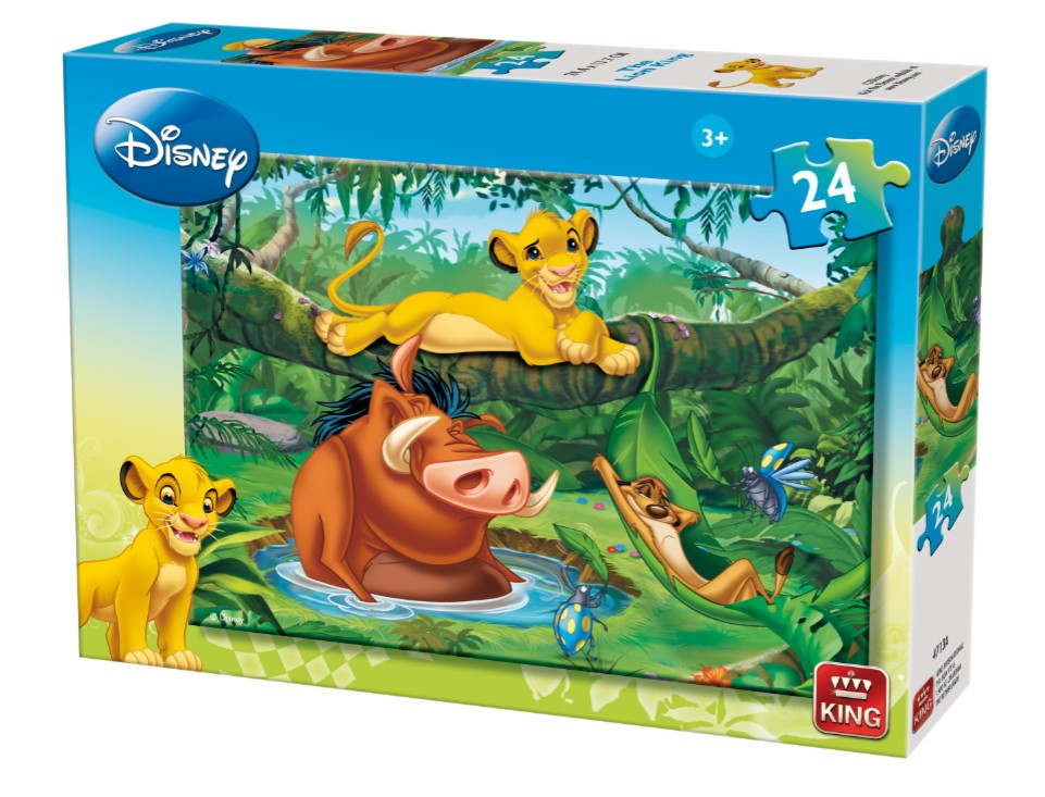 puzzle le roi lion king puzzle 04713 a 24 pi ces puzzles autres disney planet 39 puzzles. Black Bedroom Furniture Sets. Home Design Ideas