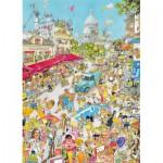 Puzzle  King-Puzzle-05185 Comic Collection - Paris, France