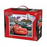 King-Puzzle-05270 Puzzle Géant de Sol - Cars