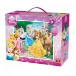King-Puzzle-05271 Puzzle Géant de Sol - Disney Princess
