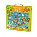 King-Puzzle-05441 Puzzle Géant de Sol - Kiddy ABC