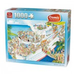 Puzzle  King-Puzzle-K05075 Comic Collection - Cruise