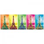 Puzzle  KS-Games-11223 Pop Art : Tour Eiffel