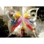 Puzzle  KS-Games-11297 L'Effet Papillon