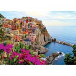 Puzzle  KS-Games-11309 Italie, Cinque Terre : Manarola