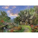 Puzzle  KS-Games-11355 Dominic Davison : Le Vieux Cottage au bord de l'Eau