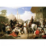 Puzzle  KS-Games-11364 William Allan :  Marché d'Esclaves à Istanbul