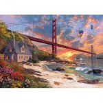 Puzzle  KS-Games-11374 Dominic Davison : Golden Gate