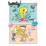 KS-Games-TW741 2 Puzzles - Titi, Tweety