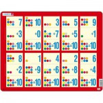 Larsen-AR13 Puzzle Cadre - Apprendre à Compter : L'Addition de 1 à 10